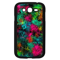 Squiggly Abstract B Samsung Galaxy Grand Duos I9082 Case (black)