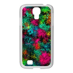 Squiggly Abstract B Samsung Galaxy S4 I9500/ I9505 Case (white)
