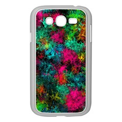 Squiggly Abstract B Samsung Galaxy Grand Duos I9082 Case (white)