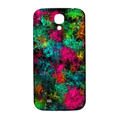 Squiggly Abstract B Samsung Galaxy S4 I9500/i9505  Hardshell Back Case