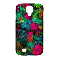 Squiggly Abstract B Samsung Galaxy S4 Classic Hardshell Case (pc+silicone)