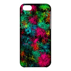 Squiggly Abstract B Apple Iphone 5c Hardshell Case