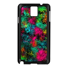 Squiggly Abstract B Samsung Galaxy Note 3 N9005 Case (black)