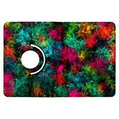 Squiggly Abstract B Kindle Fire Hdx Flip 360 Case