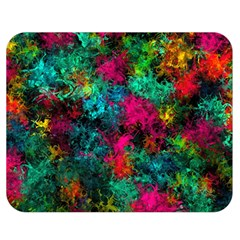 Squiggly Abstract B Double Sided Flano Blanket (medium)