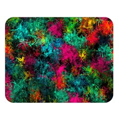 Squiggly Abstract B Double Sided Flano Blanket (large)