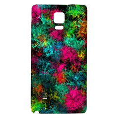 Squiggly Abstract B Galaxy Note 4 Back Case