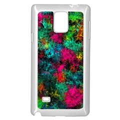 Squiggly Abstract B Samsung Galaxy Note 4 Case (white)