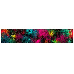 Squiggly Abstract B Flano Scarf (large)