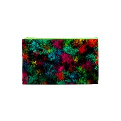 Squiggly Abstract B Cosmetic Bag (xs)