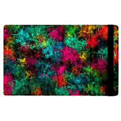 Squiggly Abstract B Apple Ipad Pro 12 9   Flip Case