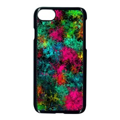 Squiggly Abstract B Apple Iphone 7 Seamless Case (black)