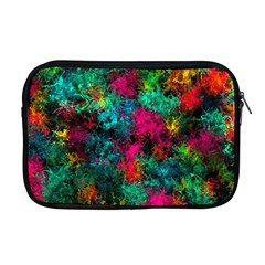 Squiggly Abstract B Apple Macbook Pro 17  Zipper Case