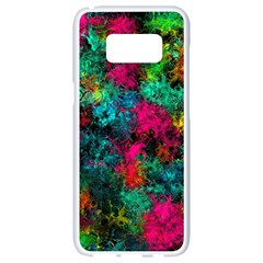 Squiggly Abstract B Samsung Galaxy S8 White Seamless Case