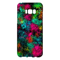 Squiggly Abstract B Samsung Galaxy S8 Plus Hardshell Case