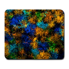 Squiggly Abstract C Large Mousepads
