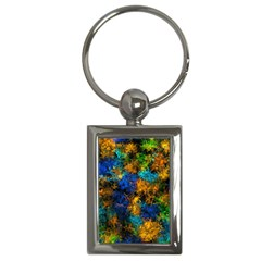 Squiggly Abstract C Key Chains (rectangle)
