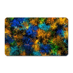 Squiggly Abstract C Magnet (rectangular)