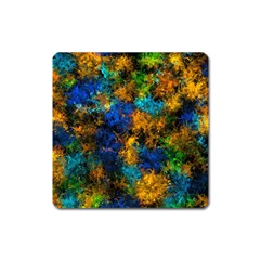 Squiggly Abstract C Square Magnet