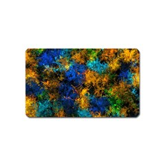 Squiggly Abstract C Magnet (name Card)