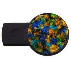 Squiggly Abstract C Usb Flash Drive Round (2 Gb)