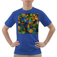 Squiggly Abstract C Dark T Shirt