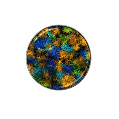 Squiggly Abstract C Hat Clip Ball Marker (4 Pack)