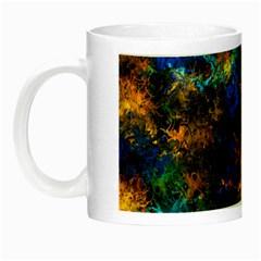 Squiggly Abstract C Night Luminous Mugs