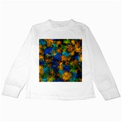 Squiggly Abstract C Kids Long Sleeve T Shirts
