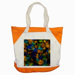 Squiggly Abstract C Accent Tote Bag