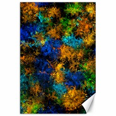 Squiggly Abstract C Canvas 20  X 30