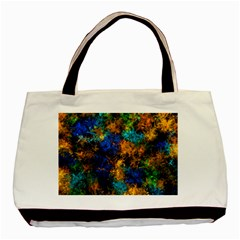 Squiggly Abstract C Basic Tote Bag (two Sides)