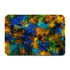 Squiggly Abstract C Plate Mats