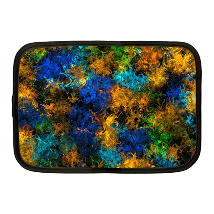 Squiggly Abstract C Netbook Case (Medium)