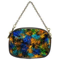 Squiggly Abstract C Chain Purses (two Sides)