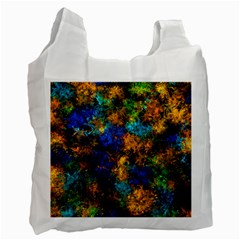 Squiggly Abstract C Recycle Bag (two Side)