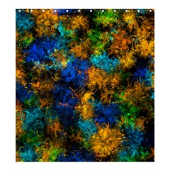Squiggly Abstract C Shower Curtain 66  X 72  (large)