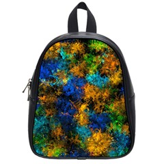 Squiggly Abstract C School Bag (small)