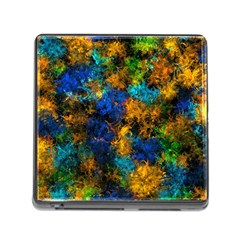 Squiggly Abstract C Memory Card Reader (square)