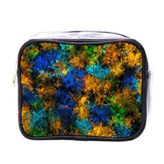 Squiggly Abstract C Mini Toiletries Bags