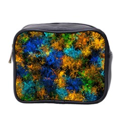 Squiggly Abstract C Mini Toiletries Bag 2 Side