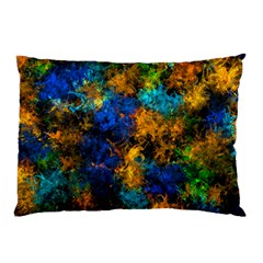 Squiggly Abstract C Pillow Case (two Sides)