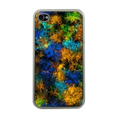 Squiggly Abstract C Apple Iphone 4 Case (clear)