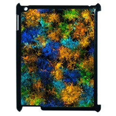 Squiggly Abstract C Apple Ipad 2 Case (black)
