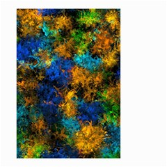 Squiggly Abstract C Small Garden Flag (two Sides)