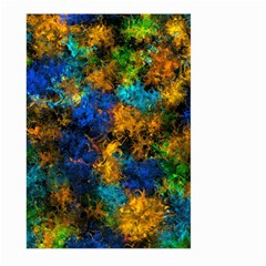 Squiggly Abstract C Large Garden Flag (two Sides)