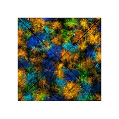 Squiggly Abstract C Acrylic Tangram Puzzle (4  X 4 )