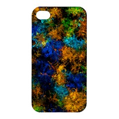 Squiggly Abstract C Apple Iphone 4/4s Premium Hardshell Case
