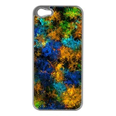 Squiggly Abstract C Apple Iphone 5 Case (silver)