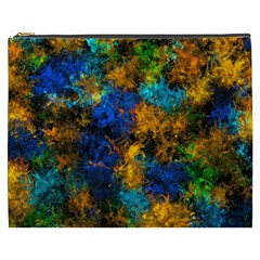 Squiggly Abstract C Cosmetic Bag (xxxl)